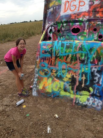 Cadillac Ranch: nice