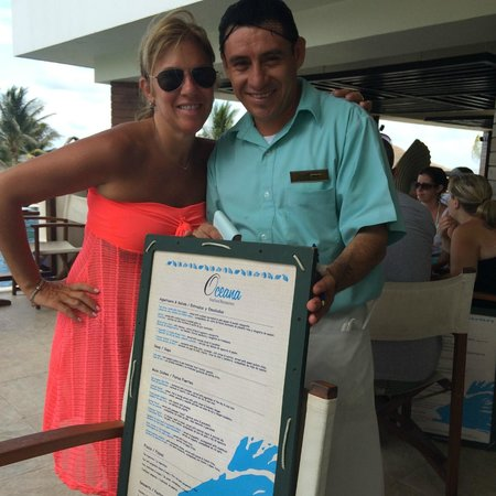 Secrets Silversands Riviera Cancun: My favorite new friend