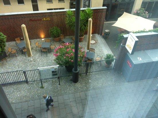 Eurostars Berlin Hotel: Vista desde Executive
