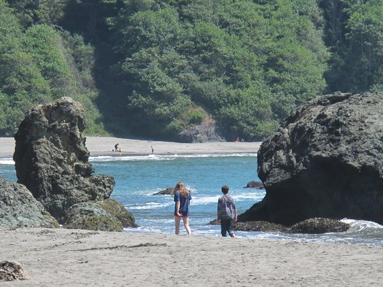Beachcomber Cafe: nearby beach