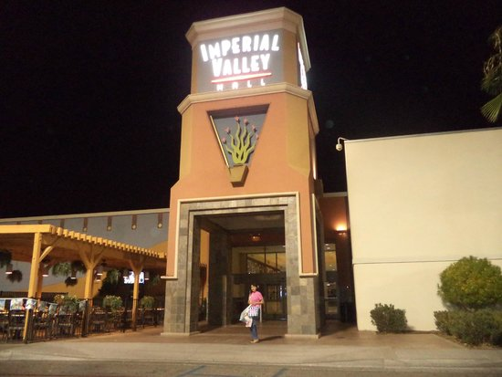 El Centro, Kalifornia: Saliendo de Imperial Valley Mall