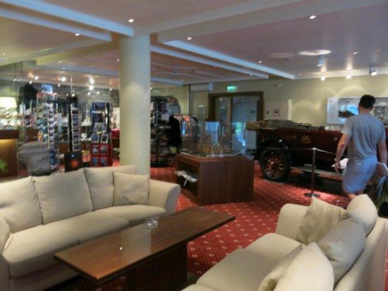 Hotel Union Geiranger: Lobby