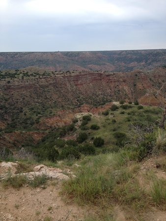 Palo Duro Canyon State Park: colorful