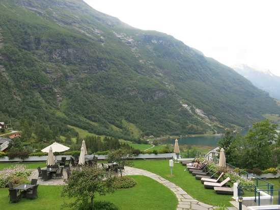 Hotel Union Geiranger: View from our balcony