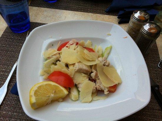Le Carceri: Salade à 8,50 euros