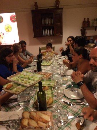 Agriturismo Biologico Barone A. Negri di Gaiano : A cena