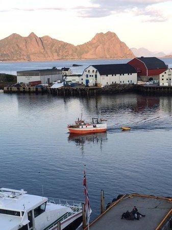 Thon Hotel Lofoten: Utsikten fra rommet