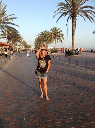 Hotel Agadir Beach Club: Променад