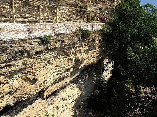 Aladzha Monastery from outside