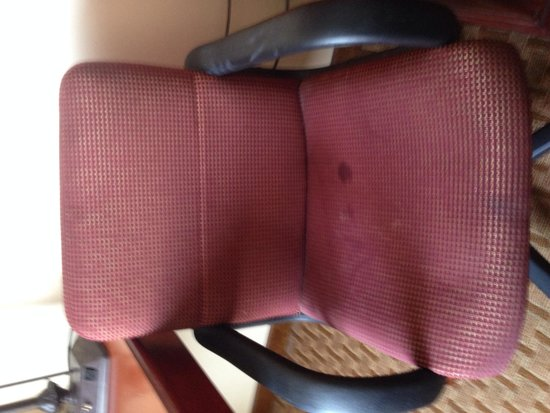 Chateau Resort & Conference Center: Stained chairs!