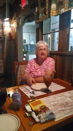 Brenda's Country Kitchen & Skeet's Pub : This women loves the seafood at Brenda's Country Kitchen and Skeets Pub