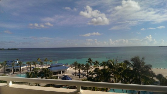 Melia Nassau Beach - All Inclusive: View from our room