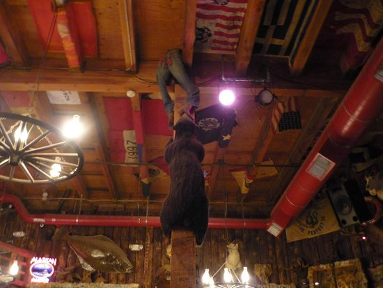 Inside the Red Dog Saloon-Juneau