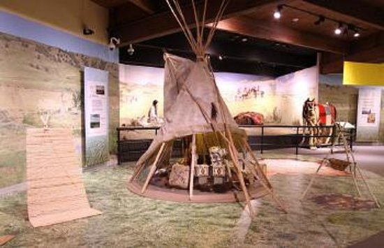 Akta Lakota Museum Camp Circle Exhibit