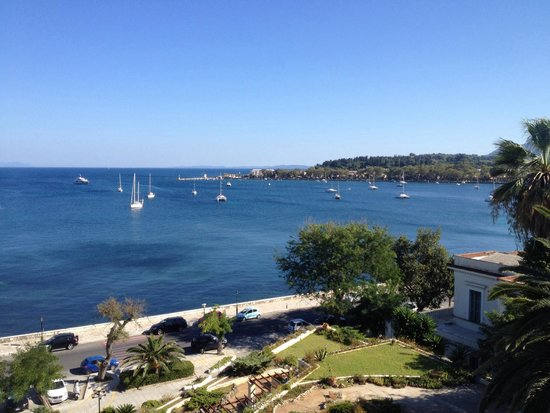Corfu Palace Hotel : View from room 616