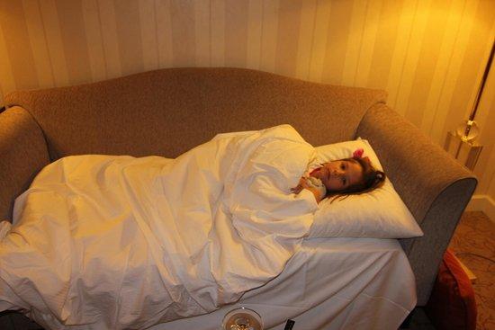 InterContinental Wien: mi hija en la suite