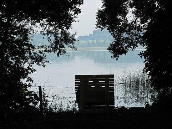 Seehotel Maria Laach: Abendstimmung am See