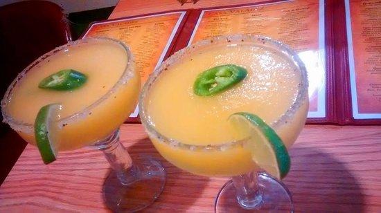 Casa Valadez: Fresh Mango Jalapeno Margaritas