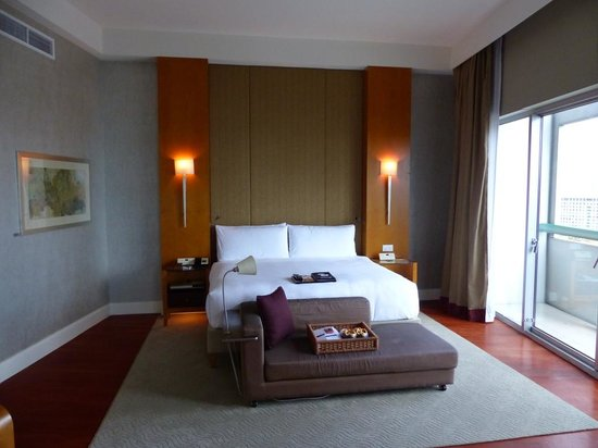 Fairmont Singapore: Bedroom