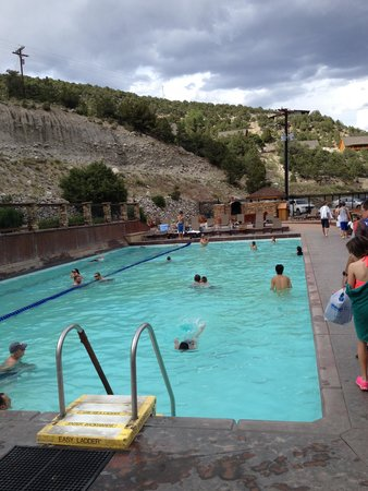 Mount Princeton Hot Springs Resort : several pools to chose from