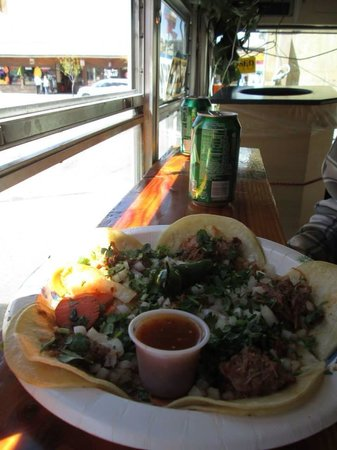 Taqueria Las Palmitas: This place has the best food...the best staff... We miss u taco bus! See u again next month - we