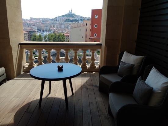 InterContinental Marseille - Hotel Dieu: terrasse