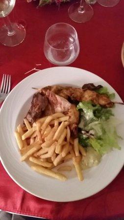 Le Privilège : Mixed grill