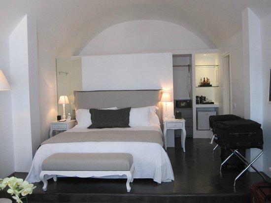 Katikies Hotel: Nosso quarto