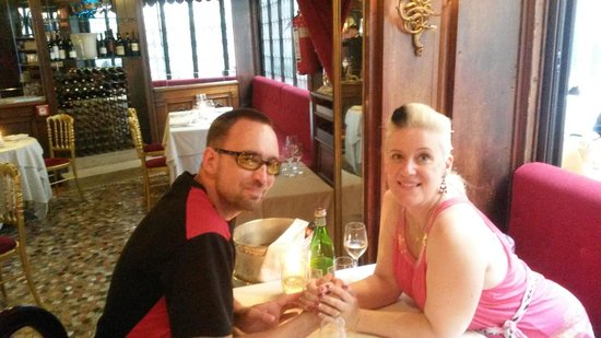 Our first visit to Taverna La Fenice, Venice - on the night of the Redeemer Fireworks