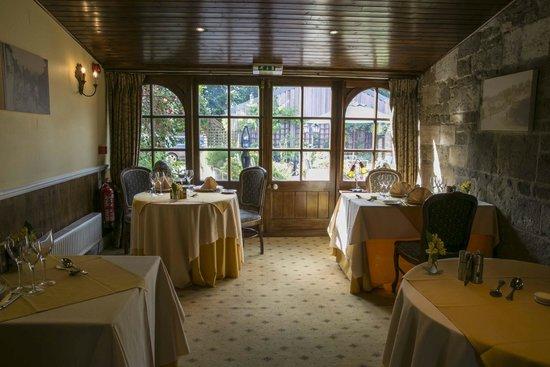 La Fleur de Lys: restaurant conservatory