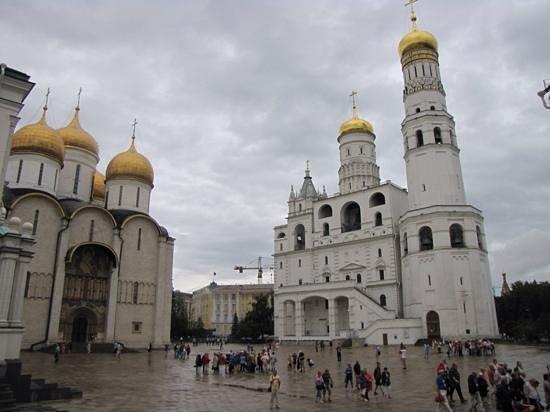 Moskauer Kreml: le chiese dentro al cremlino