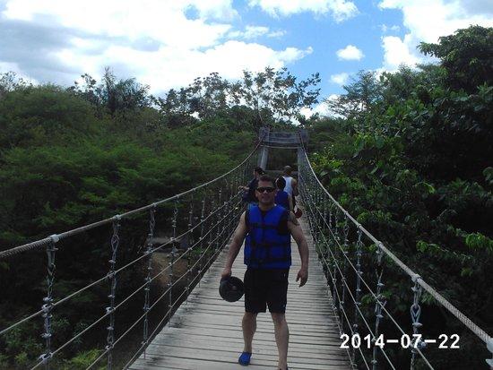 Damajaqua Cascades (27 Waterfalls): Man up time.