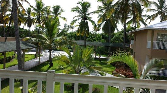 Sirenis Punta Cana Resort Casino & Aquagames: Nuestra vista desde el balcon