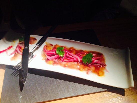 Roca Bar: Delicious sea bass 'Nikkey style'