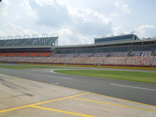 Stands where the fans seat picture of charlotte motor for Ride along charlotte motor speedway