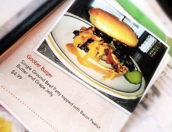 Summit Diner Goober Burger Pic
