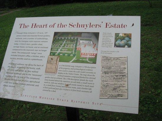 Schuyler Mansion : Schuyler Estate