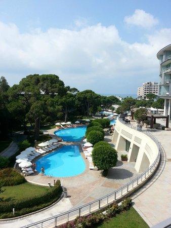 Calista Luxury Resort : View from room