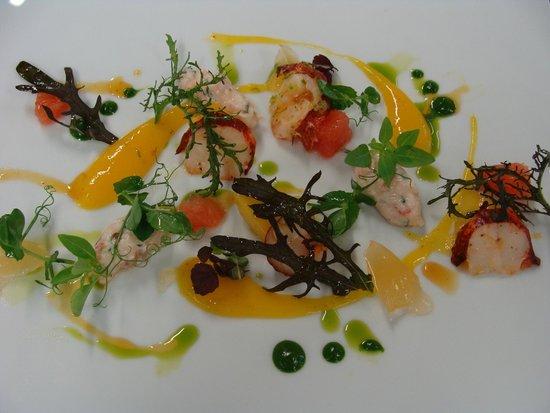 "Restaurant Fanny Rey : la salade de homard ""un pur regal"""