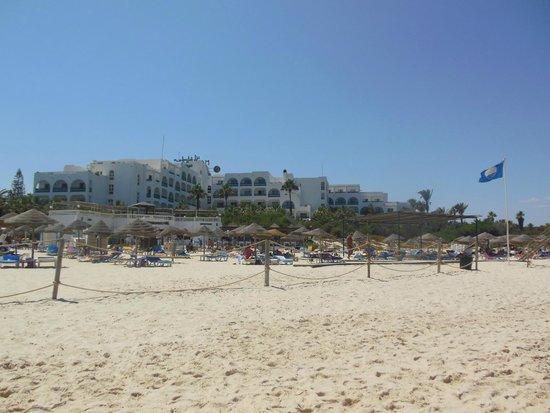 Marhaba Beach Hotel: Hotel from the beach