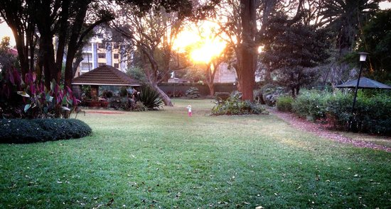 Amani Gardens Inn: The beautiful garden