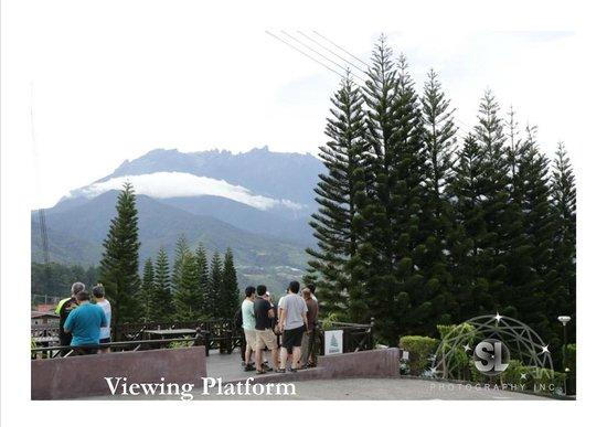 Kinabalu Pine Resort : Hotel's viewing platform