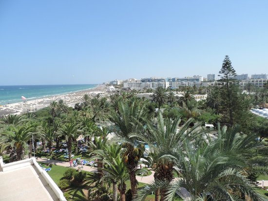 Marhaba Beach Hotel: View from room 424