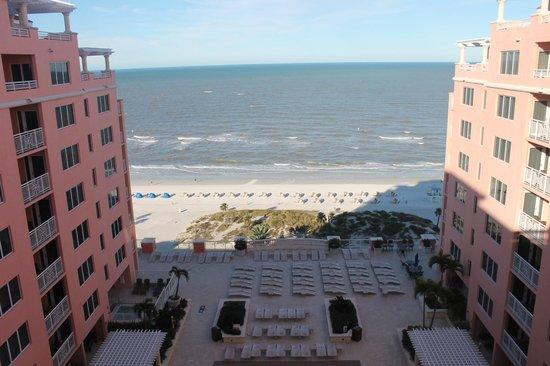 Hyatt Regency Clearwater Beach Resort & Spa: Beach View