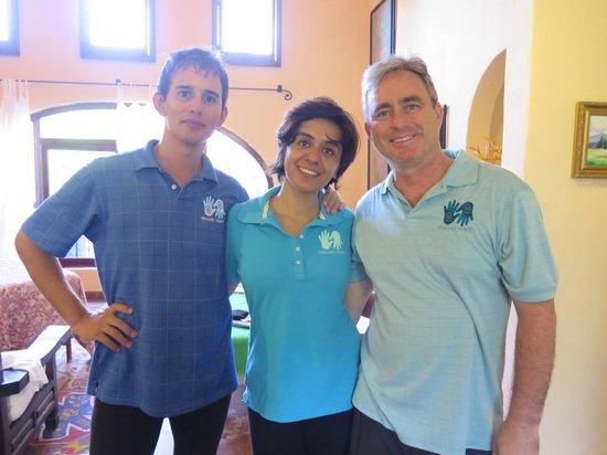 Healing Hands Massage and Ayurvedic Spa : the dream team