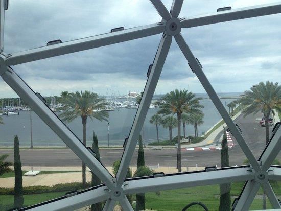 The Dali Museum: vista de dentro do Museu Dali