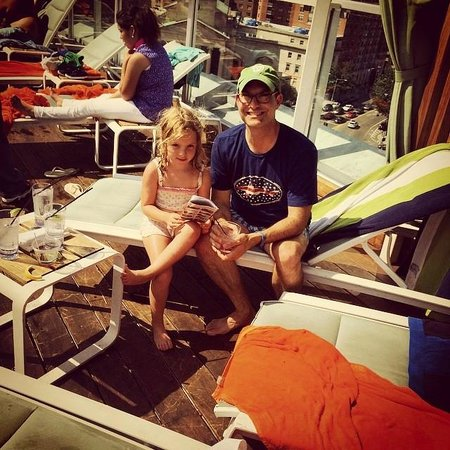 Kimpton Donovan Hotel: Catching rays on top of the city