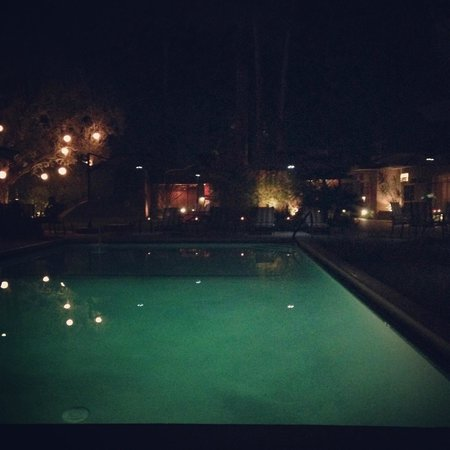 Desert Riviera Hotel: Night swim
