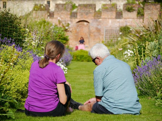 Bishop's Palace Gardens, Chichester - time to sit and take stock