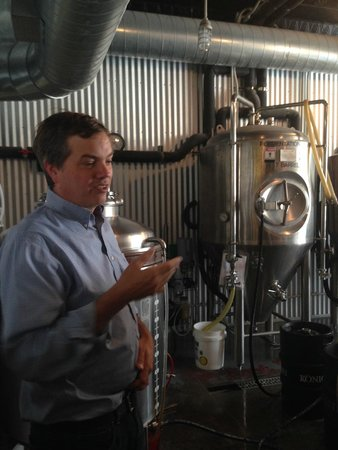 Farm to Glass Tours: Learning about the brewing process